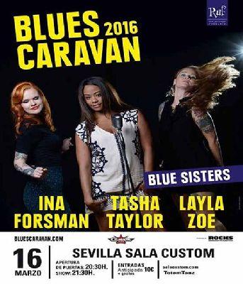 Concierto: Blues Caravan en Custom Sevilla 2016