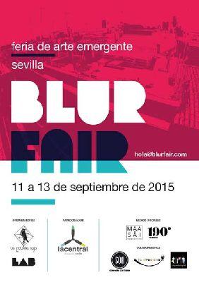 Blur Fair, I feria de arte emergente de Sevilla (2015)