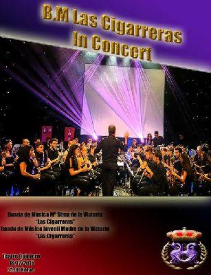 Concierto de la Banda de las Cigarreras en el Teatro Quintero de Sevilla