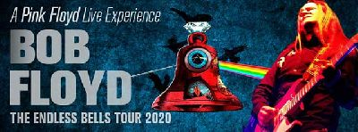Cartel de la gira The Endless Bells Tour 2019/20 de Experience Bob Floyd