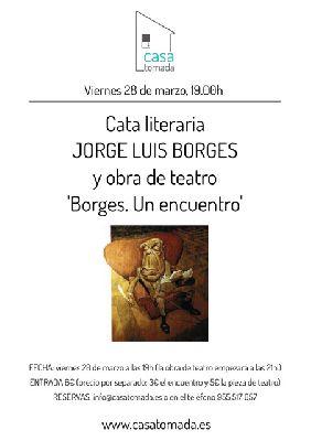 Teatro: Borges, un encuentro y cata literaria en la Casa Tomada de Sevilla