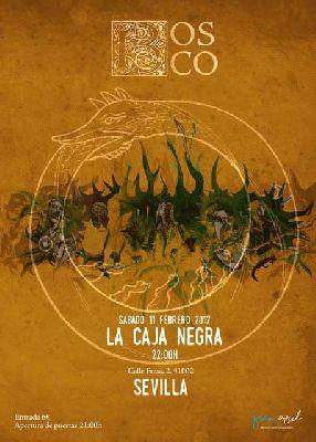 Concierto: Bosco, gira El Mosto de la Vida en La Caja Negra de Sevilla
