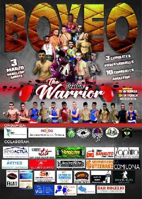 Boxeo: The Warrior Sevilla 2018