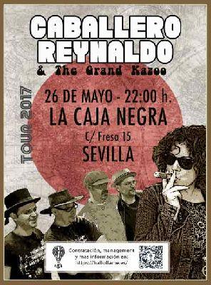 Concierto: Caballero Reynaldo en La Caja Negra de Sevilla