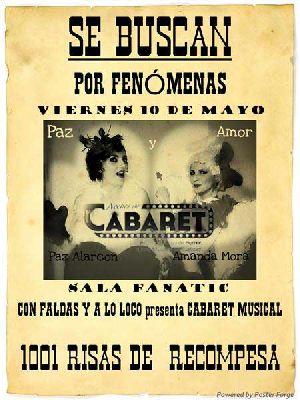 Noches de cabaret en Fanatic con Paz Alarcón y Amanda Mora