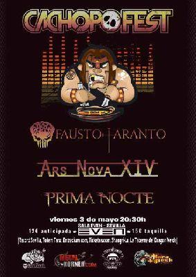 Cartel del concierto de Cachopo Fest en la Sala Even Sevilla 2019
