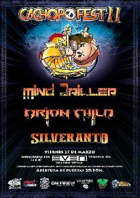 Cartel del concierto de Cachopo Fest en la Sala Even Sevilla 2020