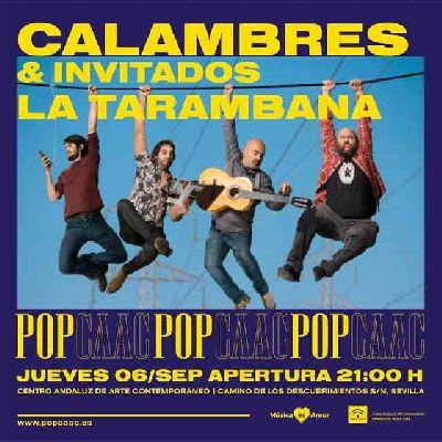 Concierto: Calambres y La Tarambana en Pop CAAC Sevilla 2018