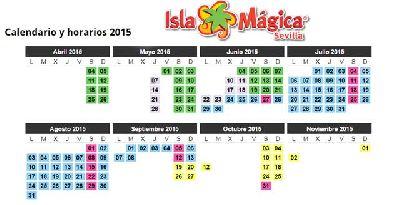 Temporada 2015 en Isla Mágica de Sevilla