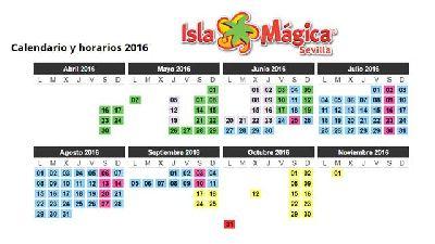 Temporada 2016 en Isla Mágica de Sevilla