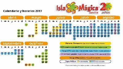 Temporada 2017 en Isla Mágica de Sevilla