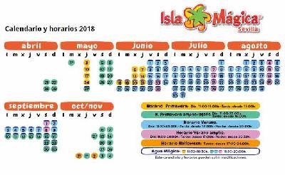 Temporada 2018 en Isla Mágica de Sevilla