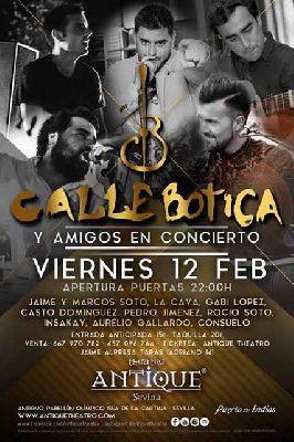 Concierto: Calle Botica Band en Antique Sevilla 2016