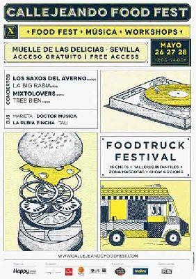 X Callejeando Food Fest en Sevilla (mayo 2017)