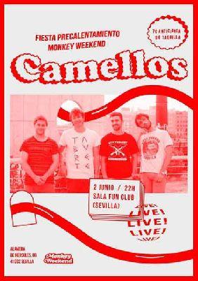Concierto: Camellos (pre Monkey Weekend) en FunClub Sevilla 2018