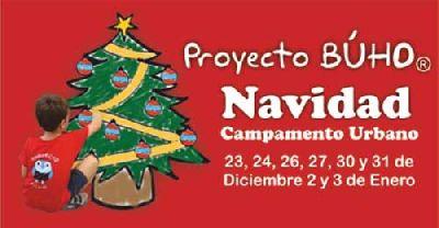 Campamentos Urbanos Proyecto Búho de Navidad en Sevilla