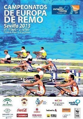 Campeonato de Europa de Remo 2013 en Sevilla