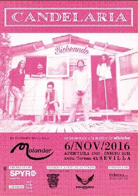 Concierto: Candelaria en Malandar Sevilla