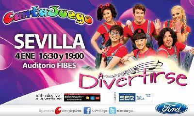 CantaJuego A divertirse en Fibes Sevilla