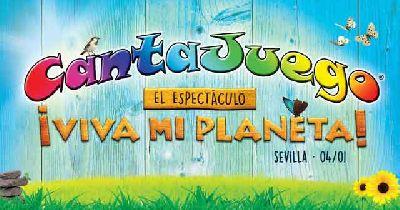 CantaJuego ¡Viva mi planeta! en Fibes Sevilla 2017