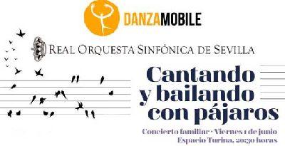 Concierto: Cantando y bailando con pájaros en el Espacio Turina de Sevilla