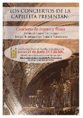 Conciertos de la Capilla de San José Sevilla (junio 2015)