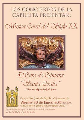 Concierto: Coro de Santa Cecilia en la Capilla de San José Sevilla