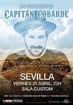Concierto: Capitán Cobarde en Custom Sevilla 2017