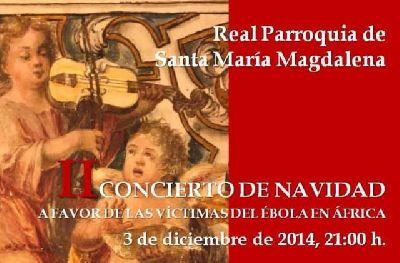 Concierto de Navidad de Cáritas en la Magdalena