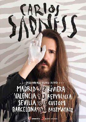 Concierto: Carlos Sadness en Custom Sevilla 2018