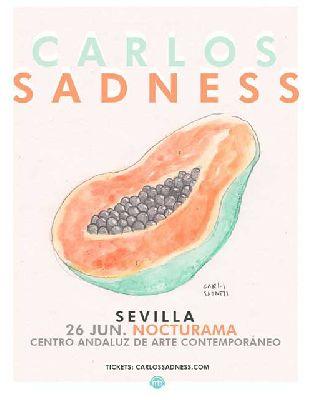 Concierto: Carlos Sadness en Nocturama Sevilla 2015