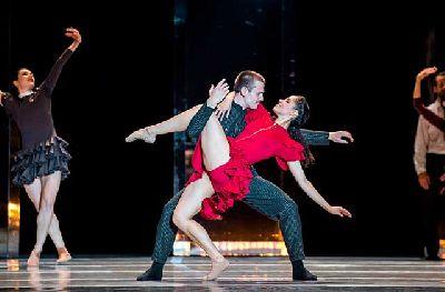 Foto promocional de Carmen por la Compañía Nacional de Danza