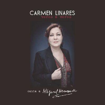 Portada del disco Verso a Verso de Carmen Linares