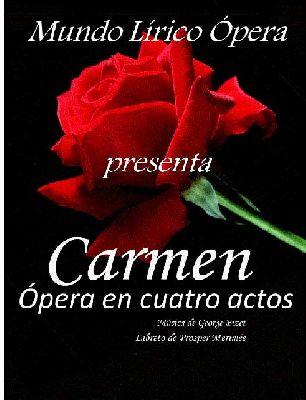 Ópera: Carmen en la sala Joaquín Turina de Sevilla