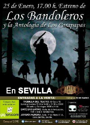 Carnaval: Los Bandoleros en el Teatro Quintero de Sevilla
