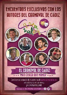 Carnavalea autores del Carnaval de Cádiz en Sevilla