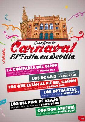 Gala del Carnaval de Cádiz en Sevilla (Fibes)