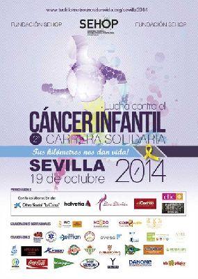 II Carrera Solidaria contra el cáncer infantil en Sevilla
