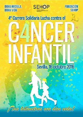 IV Carrera Solidaria contra el cáncer infantil en Sevilla 2016