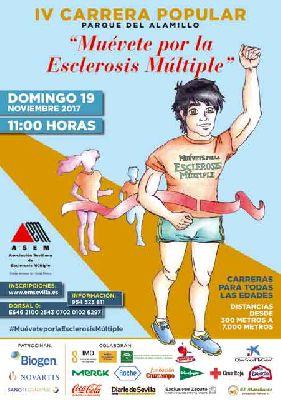 IV Carrera Popular Muévete por la esclerosis múltiple en Sevilla 2017