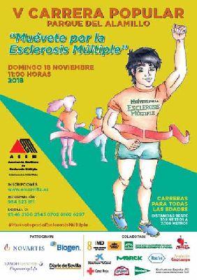 V Carrera Popular Muévete por la esclerosis múltiple en Sevilla 2018
