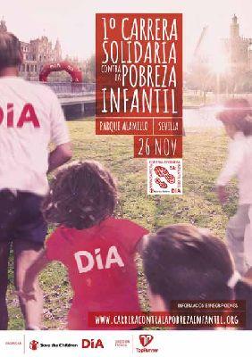 I Carrera Solidaria contra la Pobreza Infantil en Sevilla 2017