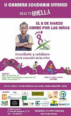 II Carrera Solidaria Deja tu huella en el parque del Alamillo Sevilla