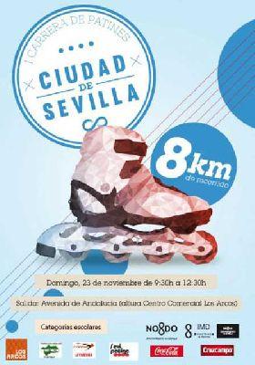 I Carrera de Patines de Sevilla 2014