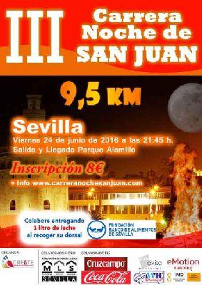 III Carrera Noche de San Juan en Sevilla 2016