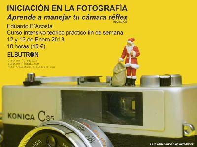 Taller de iniciación a la fotografía en El Butrón Sevilla