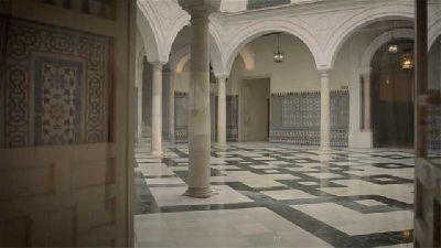 Foto del interior de la Casa Fabiola - Donación Mariano Bellver de Sevilla