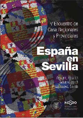 V Encuentro de Casas Regionales España en Sevilla 2013