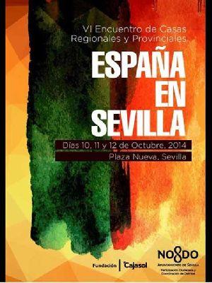 VI Encuentro de Casas Regionales España en Sevilla 2014