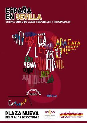 VII Encuentro de Casas Regionales España en Sevilla 2015